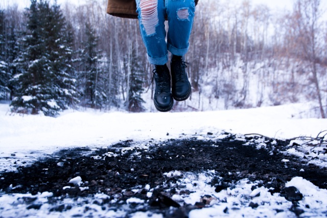 snow jump jeans winter